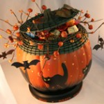 Pumpkin Candy Bowl