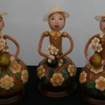 Three Gourd Girls by Debra Maerz