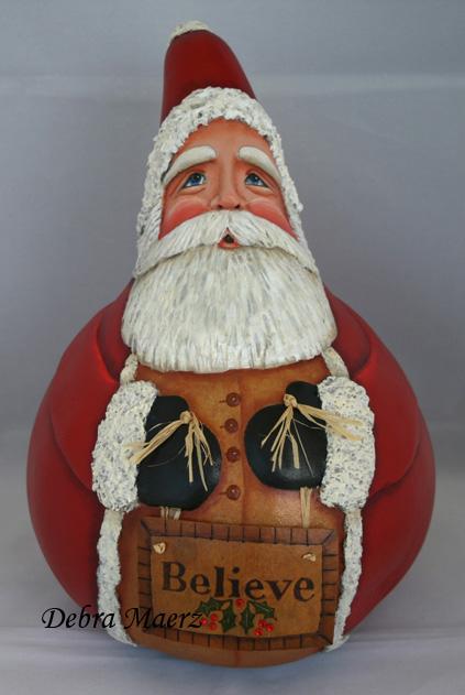 Santa Gourd-3rd Place