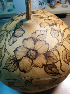 Floral Gourd 2