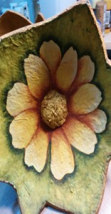 Inside Floral gourd 2